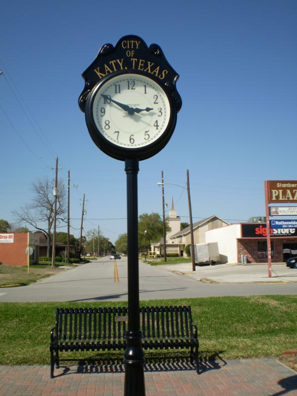 katy texas clock