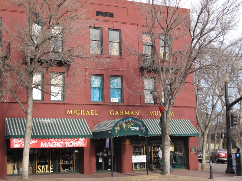 Michael Garman Gallery Old Colorado City