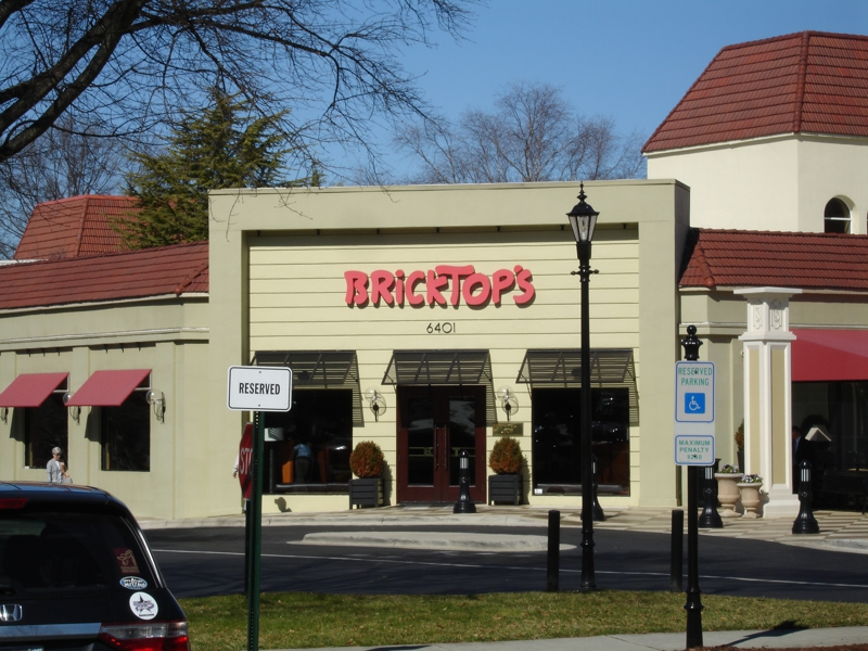 Bricktops Restaurant At Southpark In Charlotte Nc