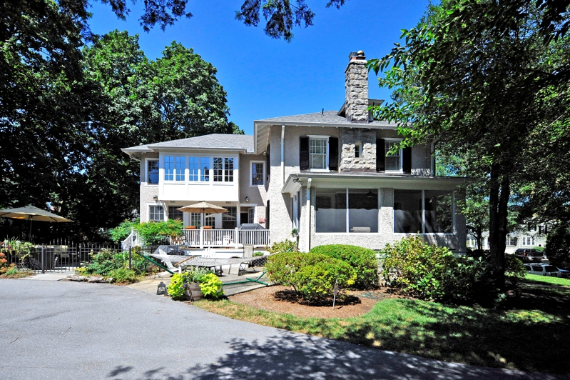 Chevy Chase Center Hall Colonial for Sale