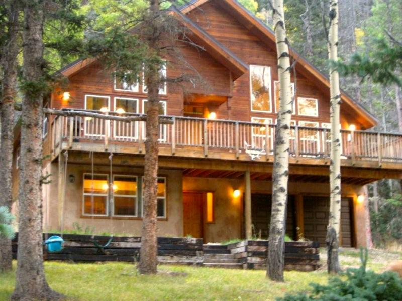 Picture Perfect Mountain Cabin For Sale in Red River, New Mexico on california home design plans, santa fe home design plans, key west home design plans,