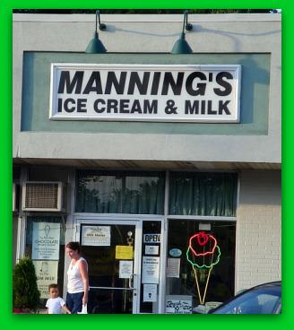 Mannings ice Cream Clarks Summit Pa