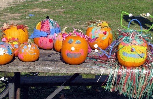 Pumpkin Creatures at Kelso Fall into Fall