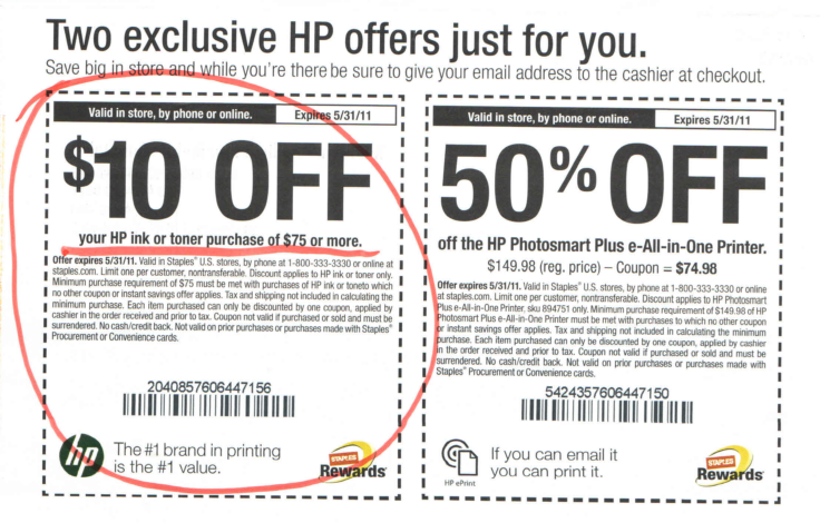 Hp.com coupon code