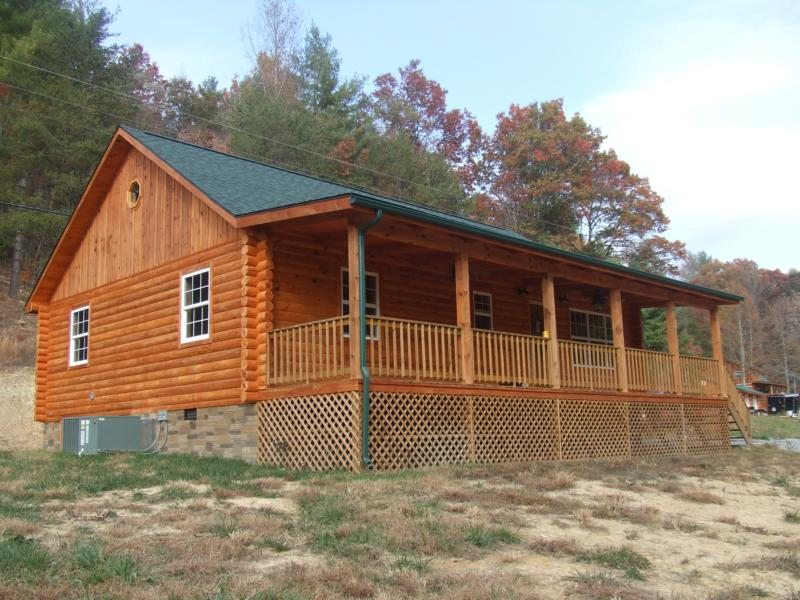 Price Reduced Log Home Hartford Tn New Construction Sold