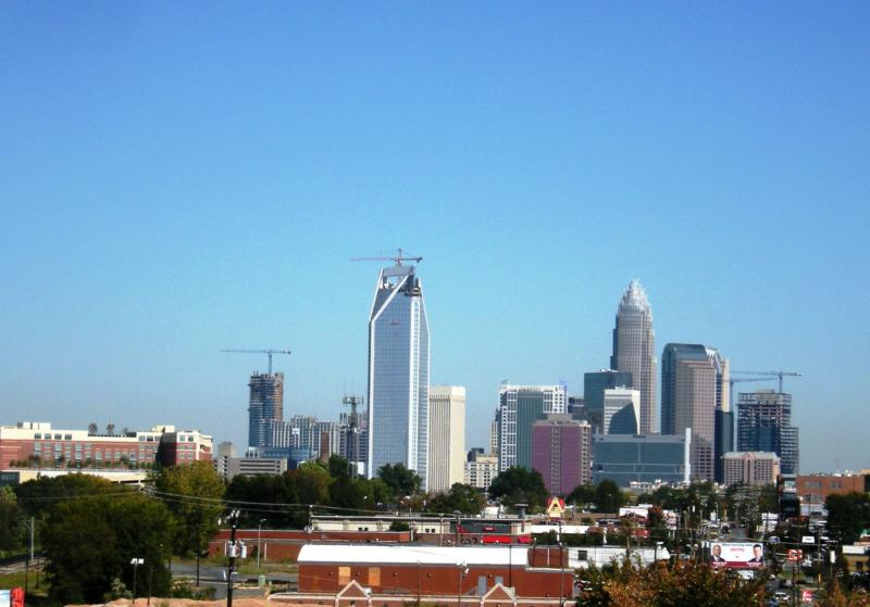 Breathtaking views of Uptown Charlotte NC