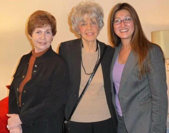 Margaret, Lenn, and Helen