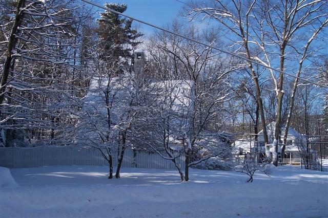 winter new hampshire homes