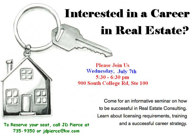 Career night for Real Estate in Lafayette, LA