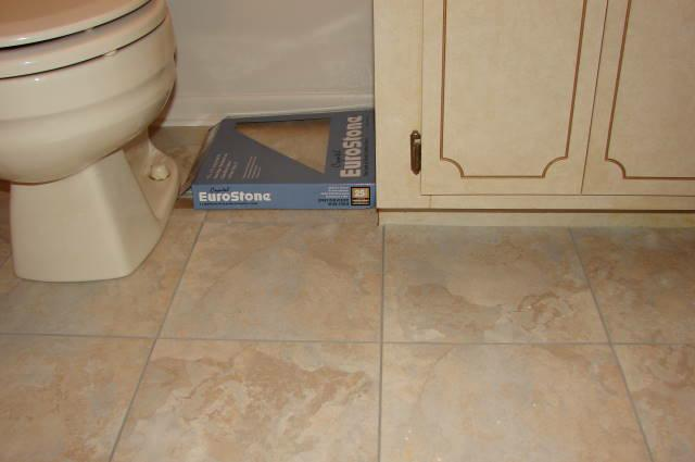 with laundry after room a tiles floors makover floor peel stick tile diy and before transform