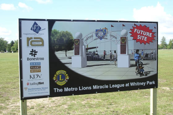The St. Cloud Metro Lions & The Miracle League of Central Minnesota