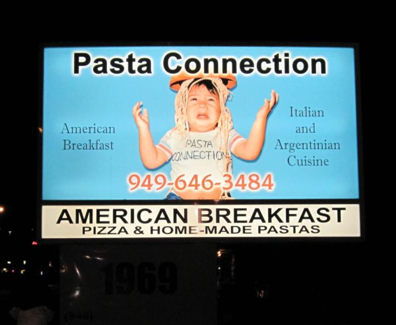Pasta Connection Costa Mesa
