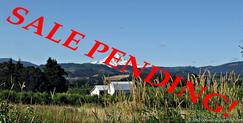 Taylor Home Sale Pending in Hood River