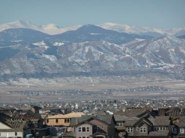view of mountain from backCountry Highlands Ranch