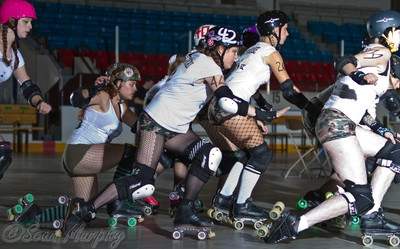 Roller Derby @ Alliston Memorial Arena