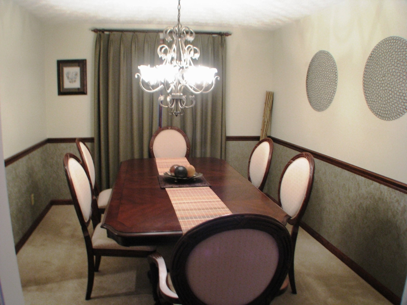 Homes for sale in Reynoldsburg Ohio, View of the Dining Room