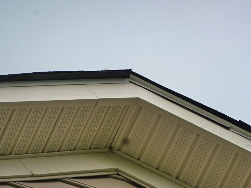 Roof Drip Edge On New Construction