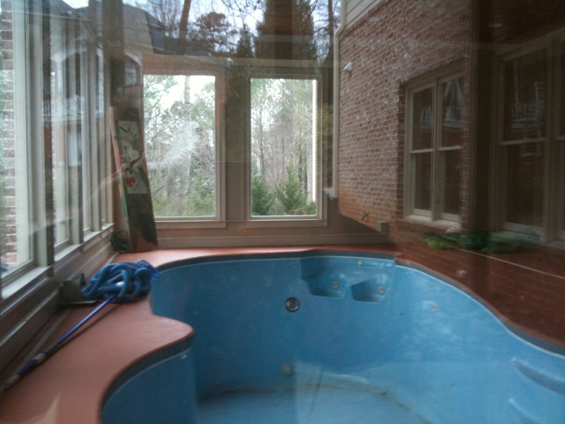 Indoor Pool - Unique Real Estate Features by Michelle Francis Atlanta Realtor