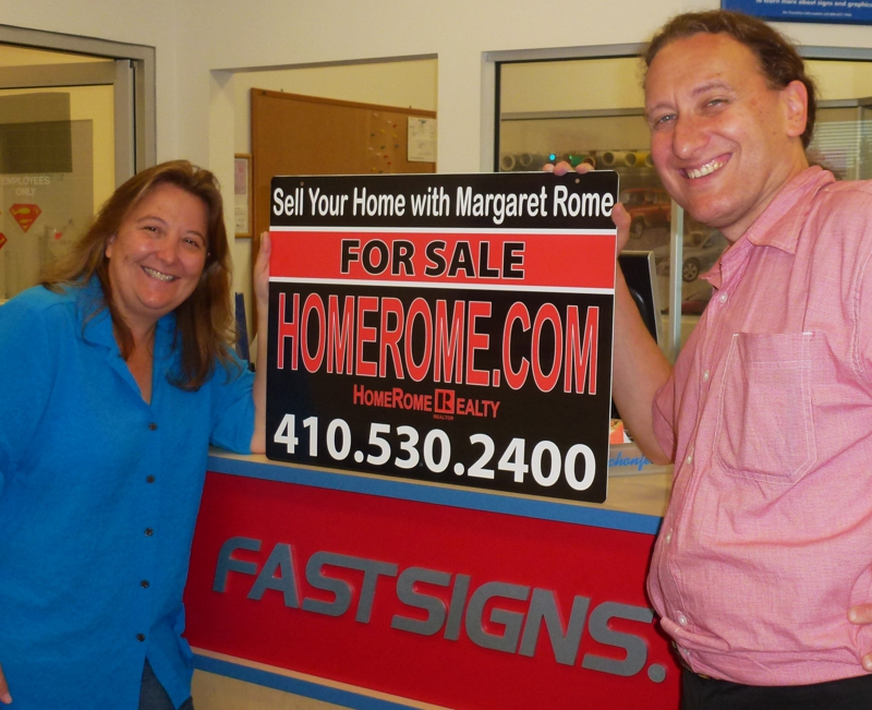 HomeRome Sign 410-530-2400