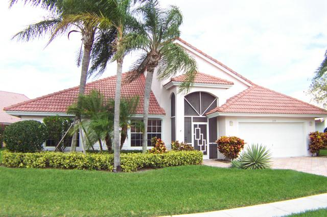 Boynton Beach Florida Real Estate Single Family Home In Pipers Glen Estates