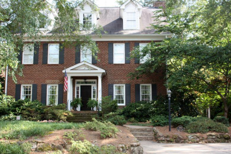 A Five Points home - examples of architecture in Athens, GA - from Michelle