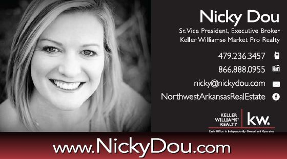 Listing Agent Nicky Dou Keller Williams Arkansas