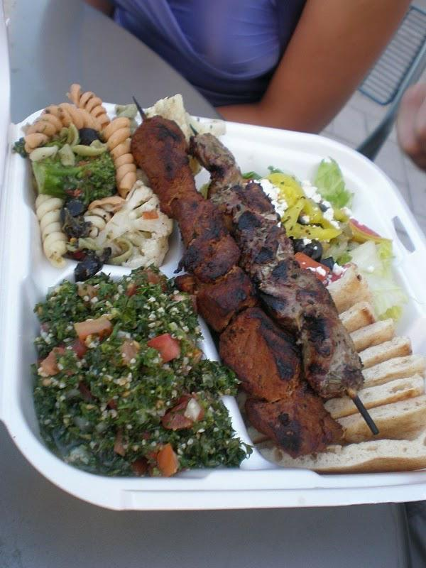 Shish Kabob - 365 Things to Do in Raleigh - Greek Food Restaurant