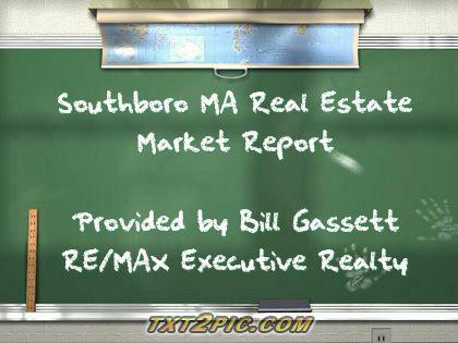 Southboro Real Estate Market Report