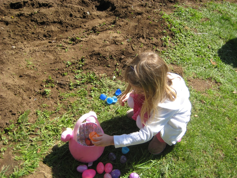 Easter egg hunts in Olympia