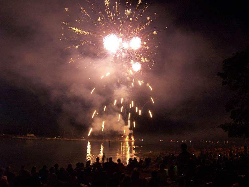 July 4th fireworks Sandpoint
