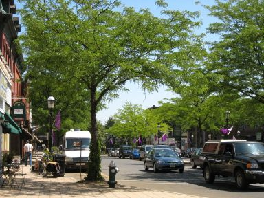 Madison NJ streetscape