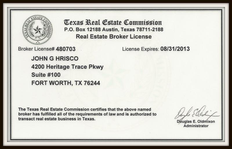 Broker license texas