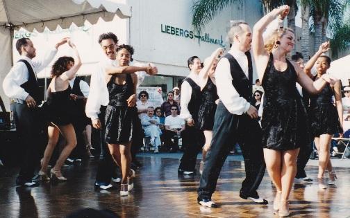 Latin Dancing Salsa Jam, Alhambra, Ca 1996