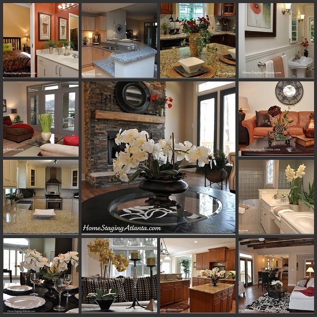 Atlanta Home Staging Collage