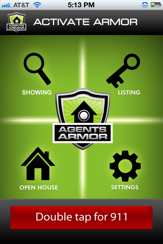 Agents Armor Main Screen