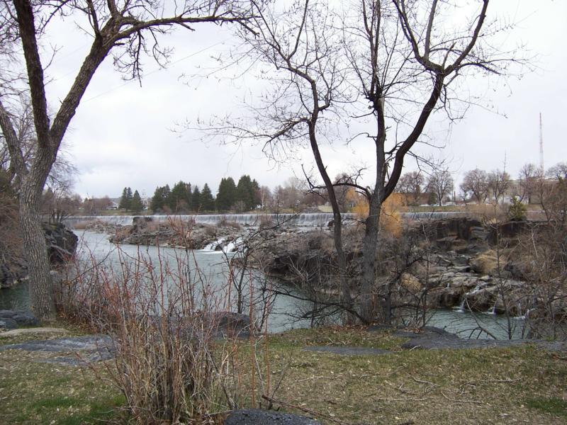 Idaho Falls Idaho falls in spring 2008