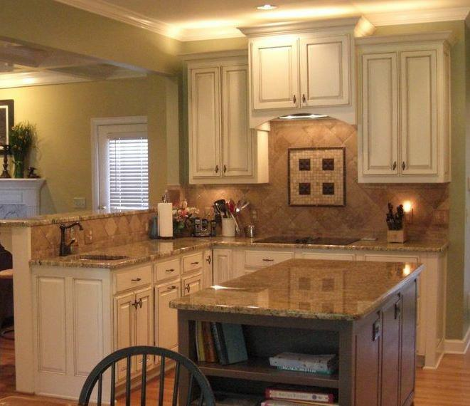 Cabinets Over Sink Design Ideas. view full size Source  High faucet with  low cabinets thoughts