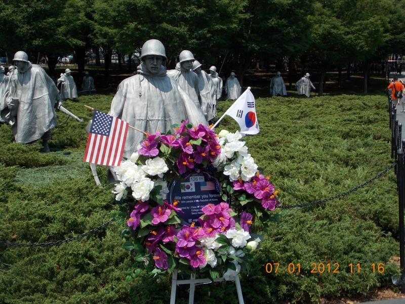 Korean War Memorial - Very Impressive