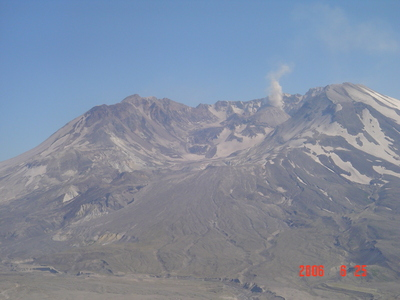 up close view of Mt. St. Helens