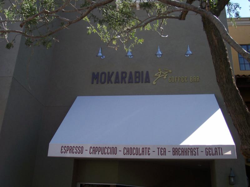 Mokarabia Coffee Bar on Main Street in Verrado Buckeye Arizona