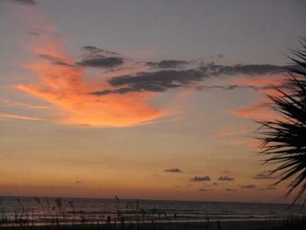 Sunset on St. Pete beach
