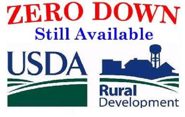 Usda rural development the best no down payment mortgage for Rural development loan arkansas