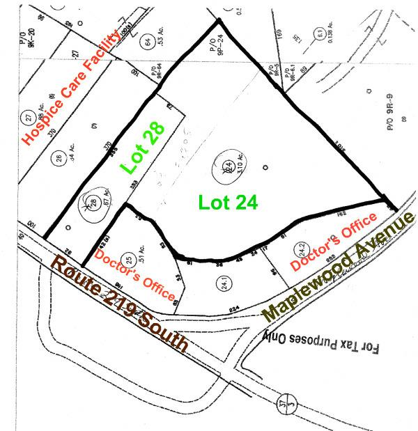 Plat Rt 219 So, Fairlea WV, commercial property for sale