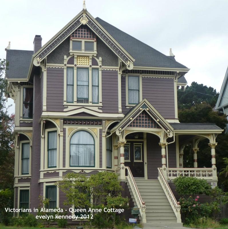 Victorians In Alameda Queen Anne Cottage