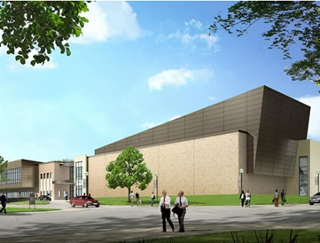 SHSU Performing arts center -- huntsville TX