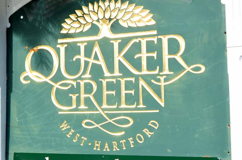 Quaker Green in West Hartford