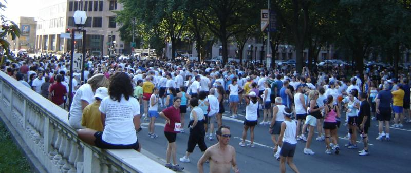 New Haven Road Race - 5k Starting Lineup