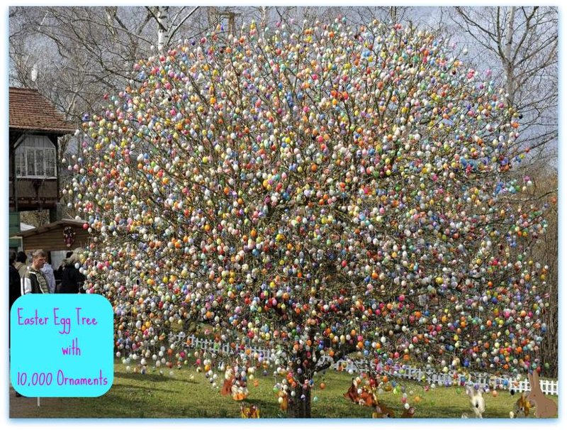 check out this easter egg tree with 10 000 egg ornaments. Black Bedroom Furniture Sets. Home Design Ideas