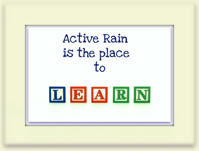 Activerain what I learn
