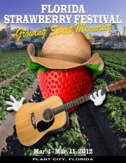 Florida Strawberry Festival Flyer